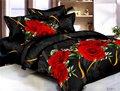 draps de lit en coton et polyester
