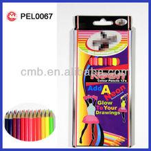 wooden drawing Neon Color Pencil