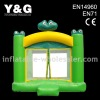 Inflatable Grenn frog moonwalk bounce house E-1283