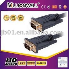 Manufacturing vga male to male cable,usb to vga converter,mini displayport to vga
