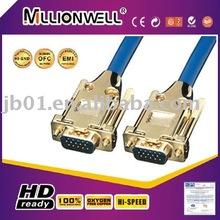 Manufacturing cable del scart del vga cable,vga to av adapter,lan to vga converter