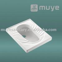 Washdown Sanitary Squatting Porcelain Toilet MY-6110B