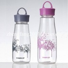 Sports water bottle like bowling bowl for 500ml drinking