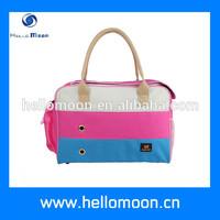 soft luxury designer pet travel shopping carrier bag for sale - info@hellomoon.cn