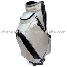 PU leather cart Golf bag