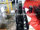 black colour decorative aluminium truss