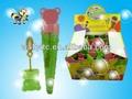 Increíble de juguete de plástico de la burbuja de jabón/oso de hielo- crema en forma de la botella de agua de la burbuja