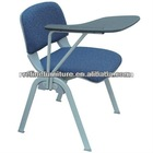 fabric study chair with writing tablet RF-T001A
