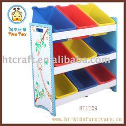 Modern MDF Storage shelf Kid Furniture