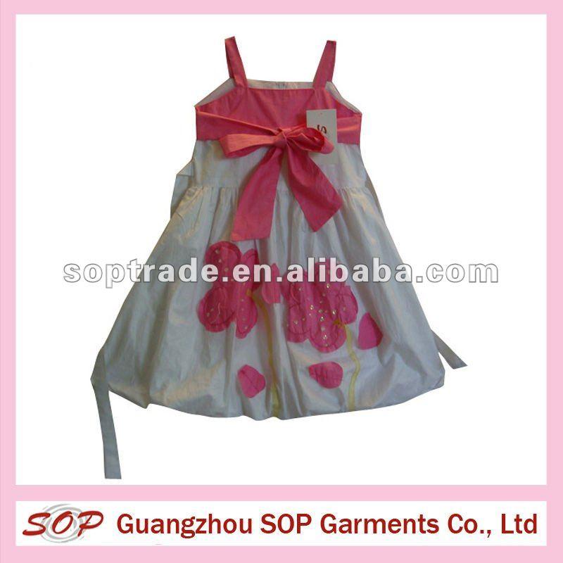 2013 de moda vestido de las niñas