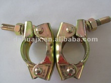 zinc plated pressed bs1139 scaffolding coupler