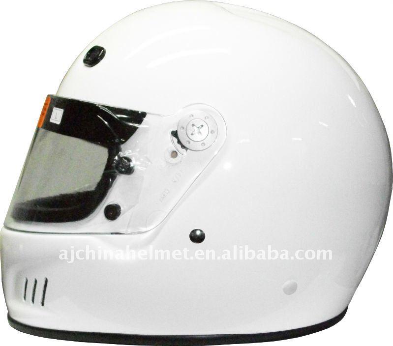 Fiberglass Full Face Car Sports Helmet FF-S4