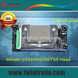original priting machine spare parts solvent base green connection mimaki jv5 print head