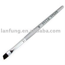 Single cosmetic eyebrow brush