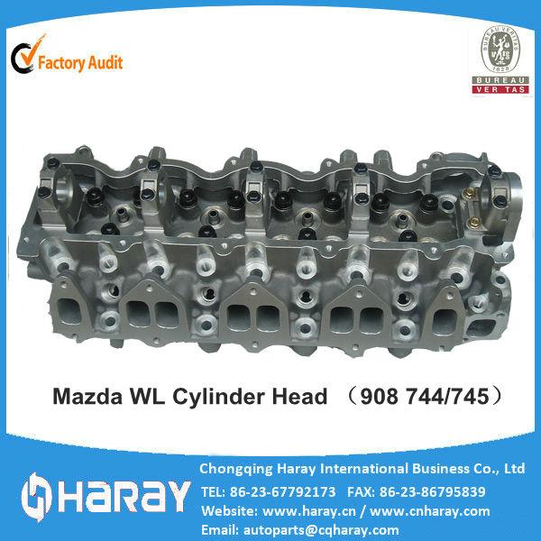 Mazda B2500,MPV 2.5D Culata for engine model WL