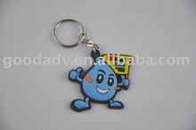 2012 Hot sale advertisement gifts-soft pvc keychain