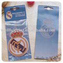Football Club Car Paper Air Freshener (WF-5029)