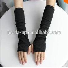 winter acrylic knitted long sleeve gloves, arm sleeve