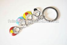 custom handbag shaped fashion design metal key chain
