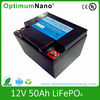 12V 50Ah portable lithium battery pack