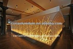 Corian lighted Design lighted Hotel bar Counter RCD-002