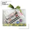 ZH1942 makeup kit in pvc box with green ribbon