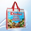 Funny pp woven bag with zipper for promotional(Gre-1814)