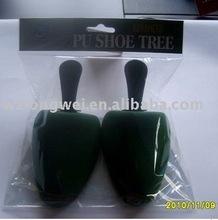 Head card packed PU Shoe support/foam shoe tree/pu flocking shoe stretcher