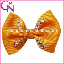 Fashion Crystal Hair Bow For Baby Girl Hair Clip (CNHBW-01613)