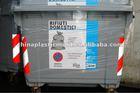 660 liter garbage bin