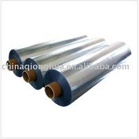 Folding box transparent rigid pvc film in rolls