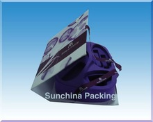 Romantic purple cosmetic packaging boxes with EVA( SC061520032)