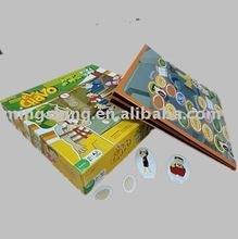 Eco-friendly cardboard play Card&Map toy box