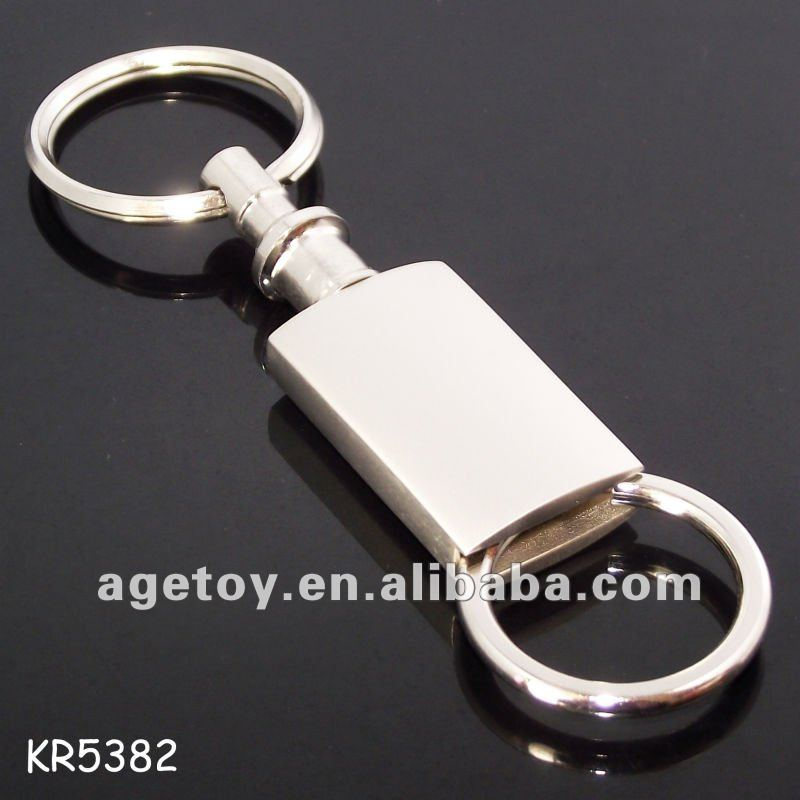 Detachable Metal Pull-A-Part Keychain,Pull A Part Keychain