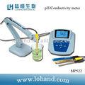 La tapa del banco de alta resolución del medidor de ph mp523& ph, mv, medidor de iones