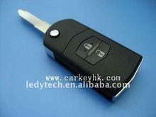 Mazda key flip remote key with 4D63 chip 315Mhz car key
