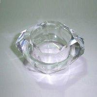 Square Diamond shape Crystal Tea Light Holder