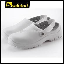 White kitchen slipper, Micro fiber work shoes, shoe factory