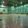 basketball court surface with pvc plastic floor covering