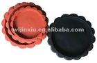 Flower Shape Saucer Round Flowerpot Tray Plate