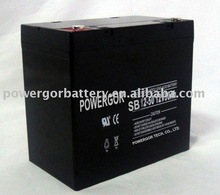 2014 Brand New and With Competitive Price for 12V 50Ah SB12-50 UPS lead acid battery