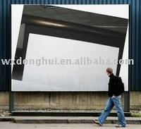 farrowed projection screen