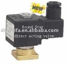 YSL028 Flat bottom/flange three way solenoid valve 110v