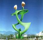 Large Modern Garden Stainless steel Sculpture for Outdoor decoration