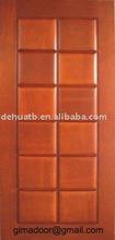 modern design entry wood door