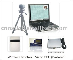 wireless 33 channels EEG PSG Machine in portable design CE approved