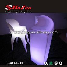 LED Bar desk/ led weding table/led weding desk(L-T09)