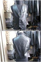 fishing genuine leather vests