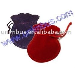 round velvet jewellery bag,velvet gift bags pouch