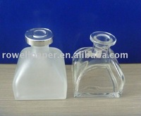 Frost aromatherapy diffuser glass bottle